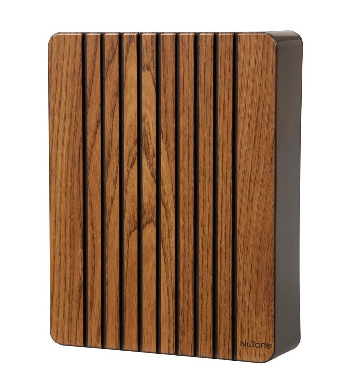 Nutone La120k Molded Oak Two Note Decorative Door Chime
