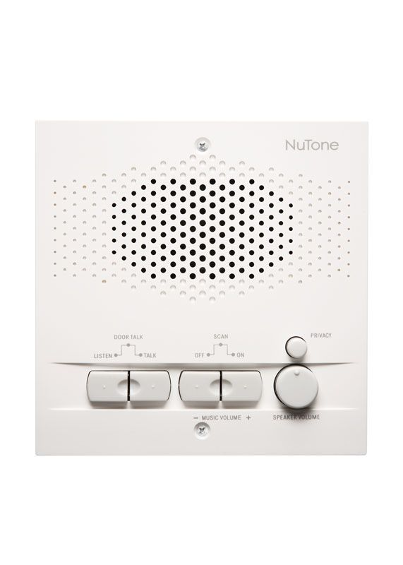 nutone nps200wh white outdoor remote station for use with nm200 master intercom system