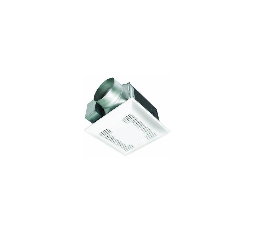 Panasonic Fv 15vql6 White Whisperlite 150 Cfm 0 9 Sone Ceiling Mounted Bath Fan With Light And