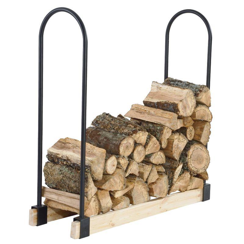 Pleasant Hearth LS932B Black Log Rack Kit