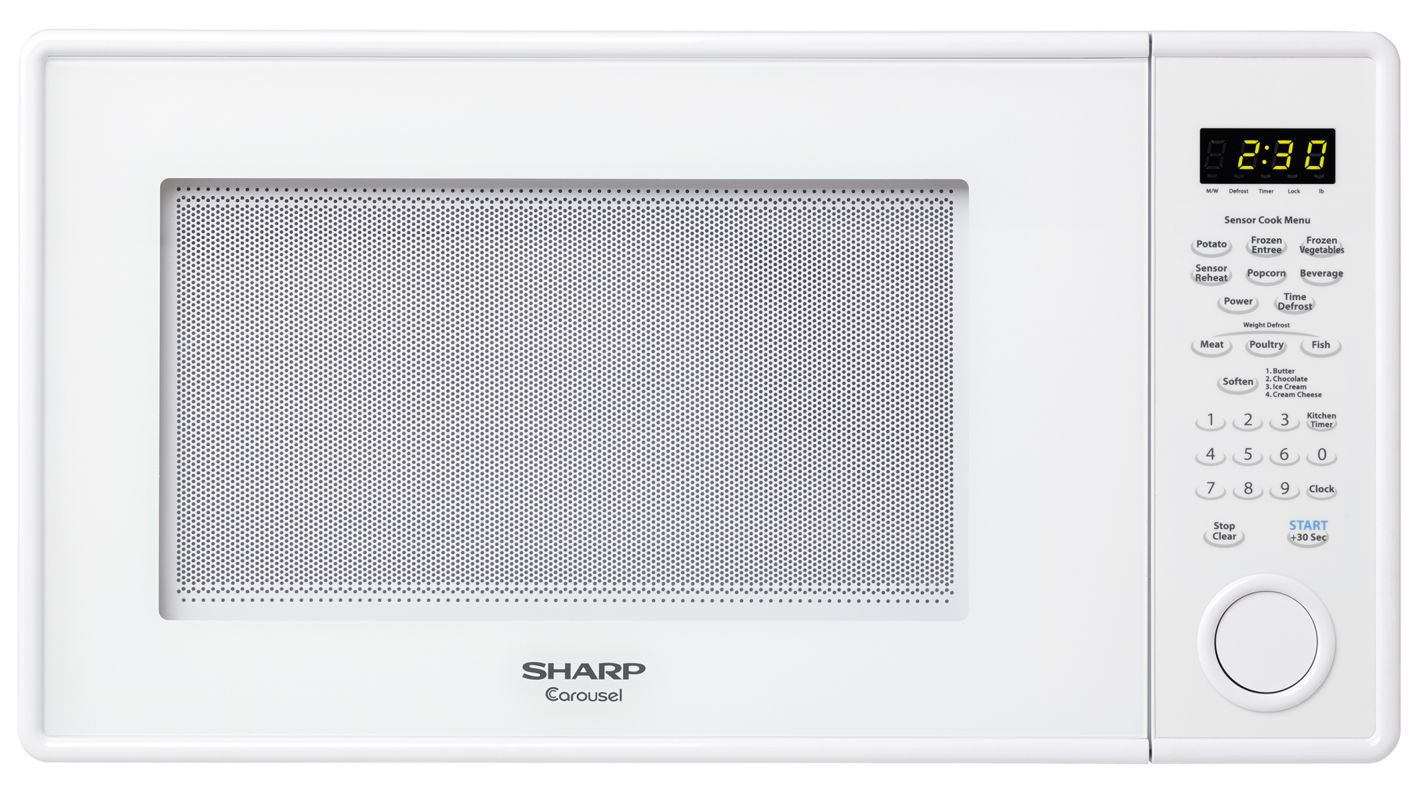 Countertop Microwave 22 Inches Wide : Countertop Sharp R459Y 22 Inch Wide 1.3 Cu. Ft. Countertop Microwave ...