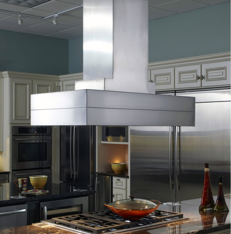 Vent-A-Hood CIEH9-242 SS Stainless Steel Vent-A-Hood CIEH9-242 Island Range Hood from the Contemporary Series