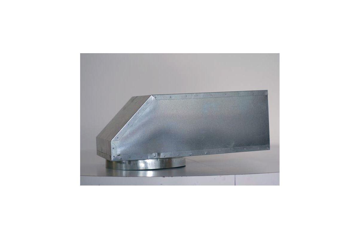 Vent A Hood Vp561 Galvanized Steel 6 Quot X 8 5 Quot Diameter Vent