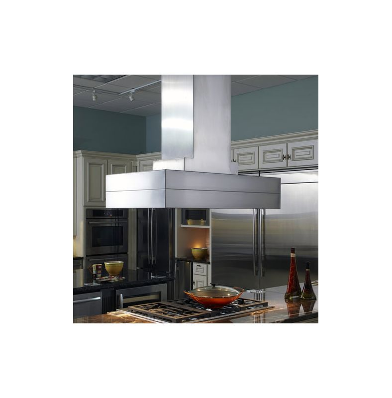 Vent-A-Hood CIEH9-254 SS Stainless Steel Vent-A-Hood CIEH9-254 54 900 CFM Island Range Hood with Halogen Lights