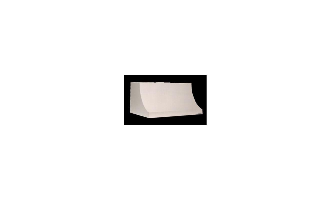 Vent-A-Hood DAH30-354 WH White Vent-A-Hood DAH30-354 900 CFM 54 Wall Mounted Range Hood with Halogen Lights an