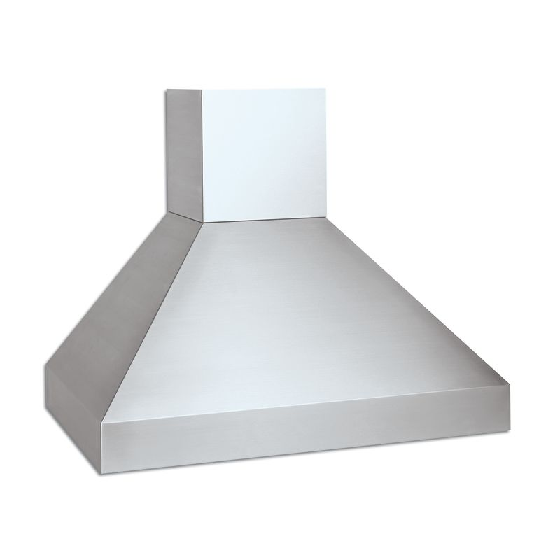 Vent-A-Hood EPIH18-248 SS Stainless Steel Vent-A-Hood EPIH18-248 550 CFM 48 Euro-Style Island Range Hood with Halogen Lig