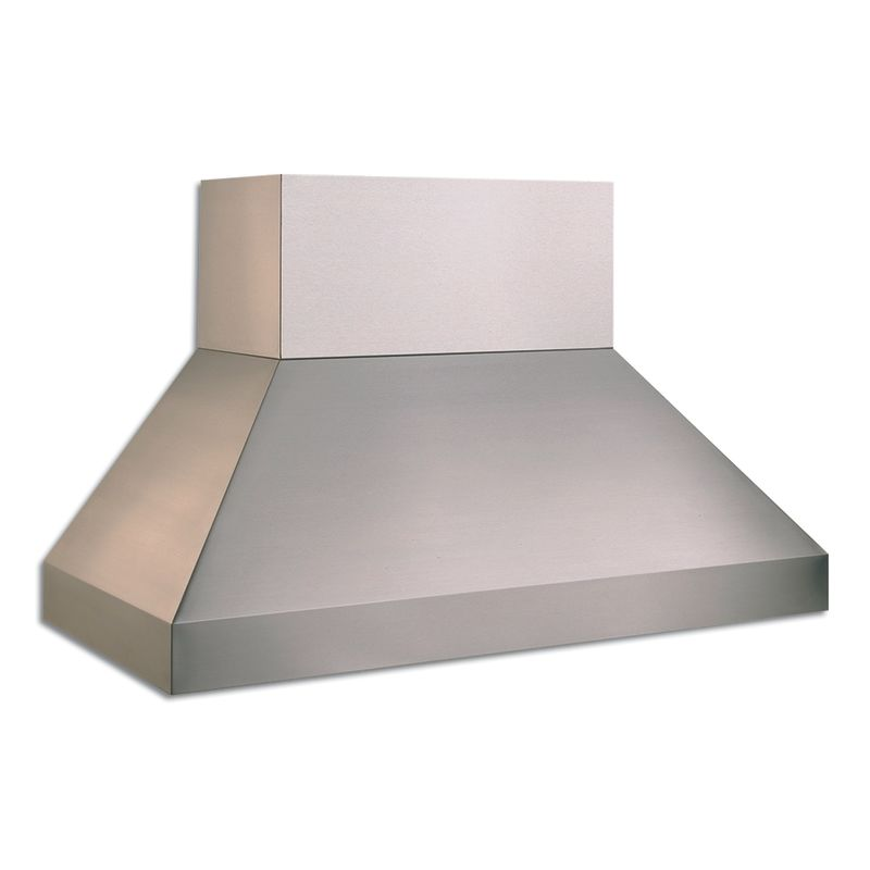 Vent-A-Hood EPXTH18-454 SS Stainless Steel Vent-A-Hood EPXTH18-454 1200 CFM 54 Euro-Style Wall Mounted Range Hood with Two