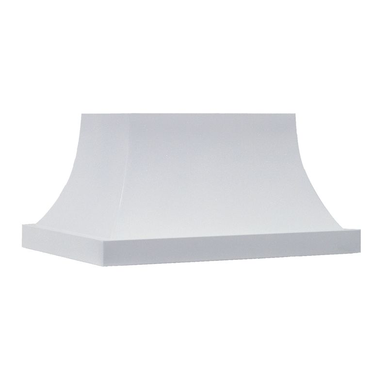 Vent-A-Hood ISFH18-254 WH White Vent-A-Hood ISFH18-254 550 CFM 54 Island Mounted Range Hood with Halogen Lights