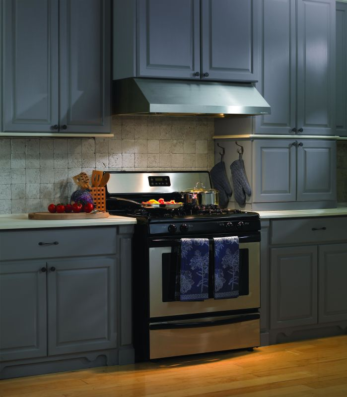 Vent-A-Hood PRH9-348 SS Stainless Steel Vent-A-Hood PRH9-348 900 CFM 48 Under Cabinet Range Hood with Dual Blowers and