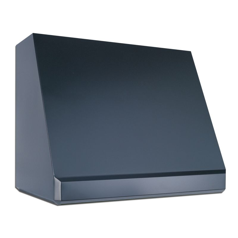 Vent-A-Hood PWVH30-236 BL Black Vent-A-Hood PWVH30-236 600 CFM 36 Wall Mounted Range Hood with Halogen Lights a