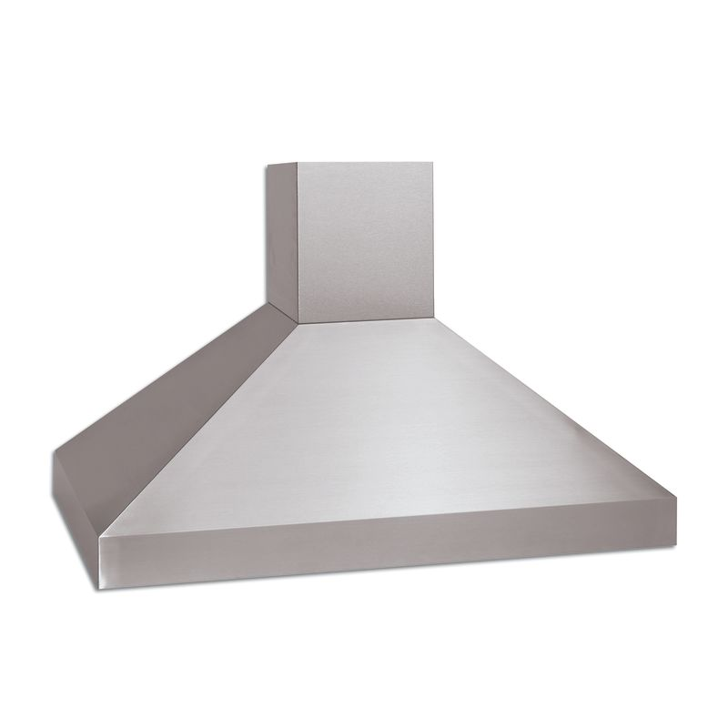 Vent-A-Hood PYDH18-242 SS Stainless Steel Vent-A-Hood PYDH18-242 550 CFM 42 Euro-Style Island Range Hood with Halogen Lig