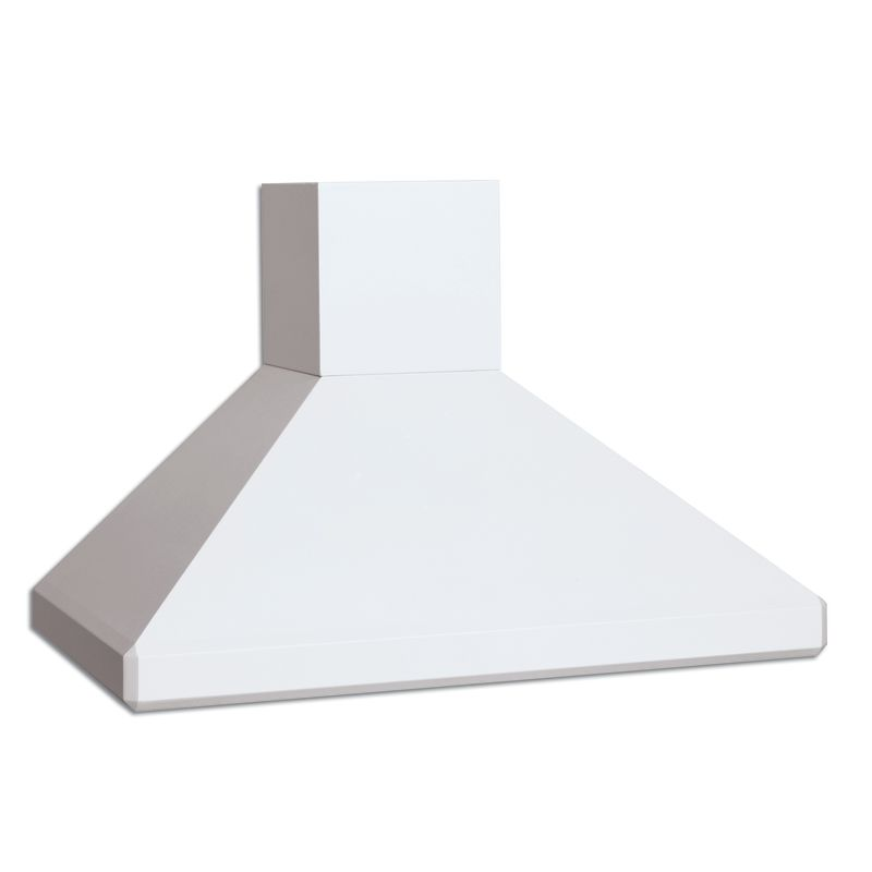 Vent-A-Hood SLDH14-136 WH White Vent-A-Hood SLDH14-136 300 CFM 36 Euro-Style Wall Mounted Range Hood with a Sin
