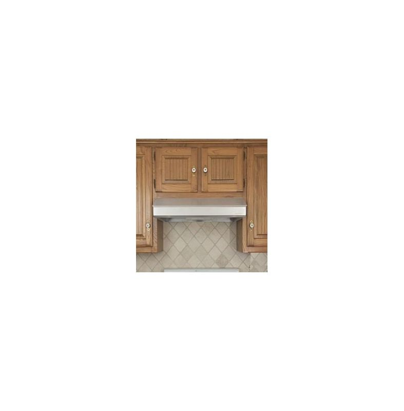 Vent-A-Hood SLH6-K30 SS Stainless Steel Vent-A-Hood SLH6-K30 250 CFM 30 Under Cabinet Range Hood with a Single Blower a