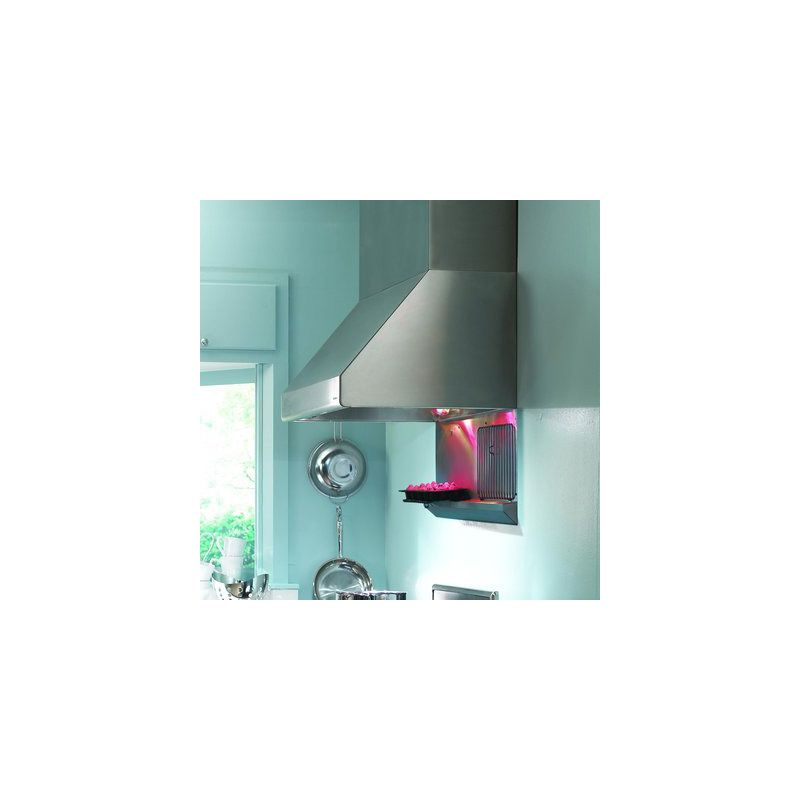 Vent-A-Hood NPH18-348 SS Stainless Steel Vent-A-Hood NPH18-348 900 CFM 48 Wall Mounted Range Hood with LED Lights and Du