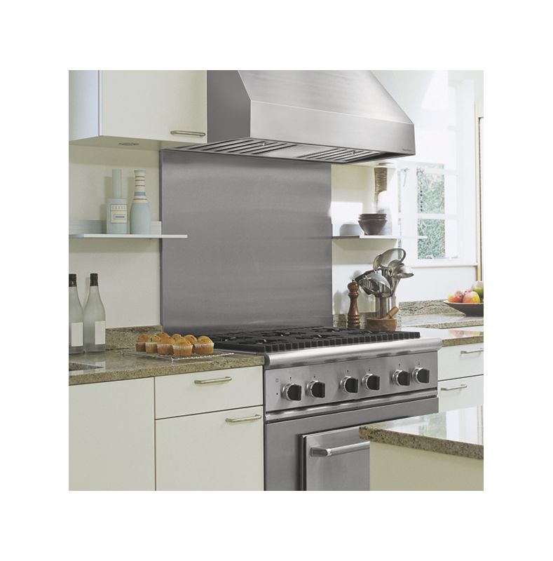 Vent-A-Hood PRH18-M48 SS Stainless Steel Vent-A-Hood PRH18-M48 48 Wall Mounted Range Hood with Single or Dual Blower Opt