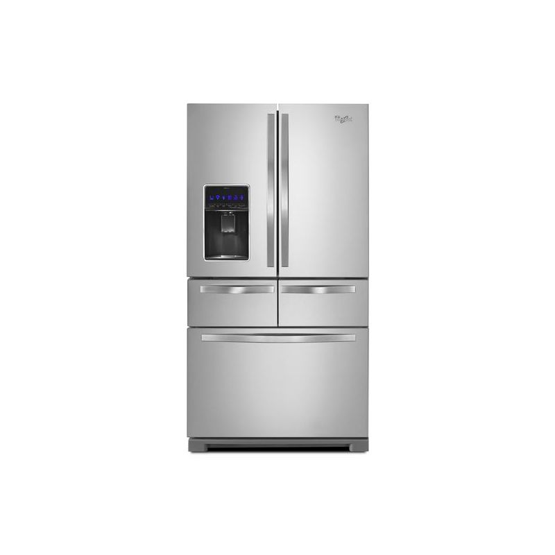 Whirlpool French Door Refrigerator Ice Maker Problems: Review Whirlpool Refrigerator Wrx988sibm