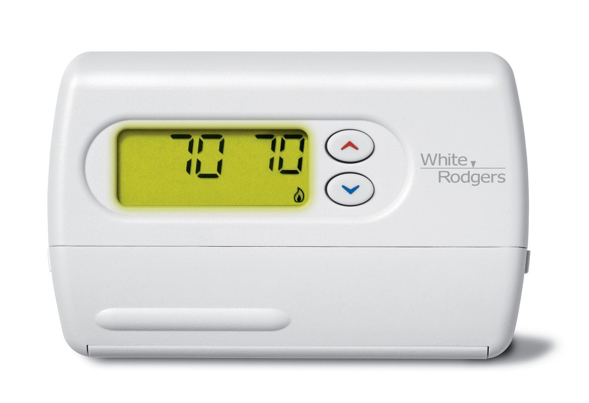 White Rodgers 1f86 344 White 80 Series Standard Single