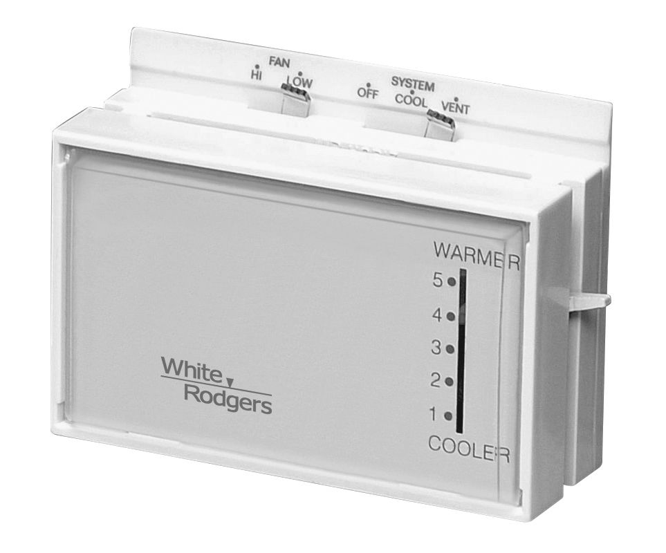 White Rodgers W1f51n619 Classic White Evaporative Cooling