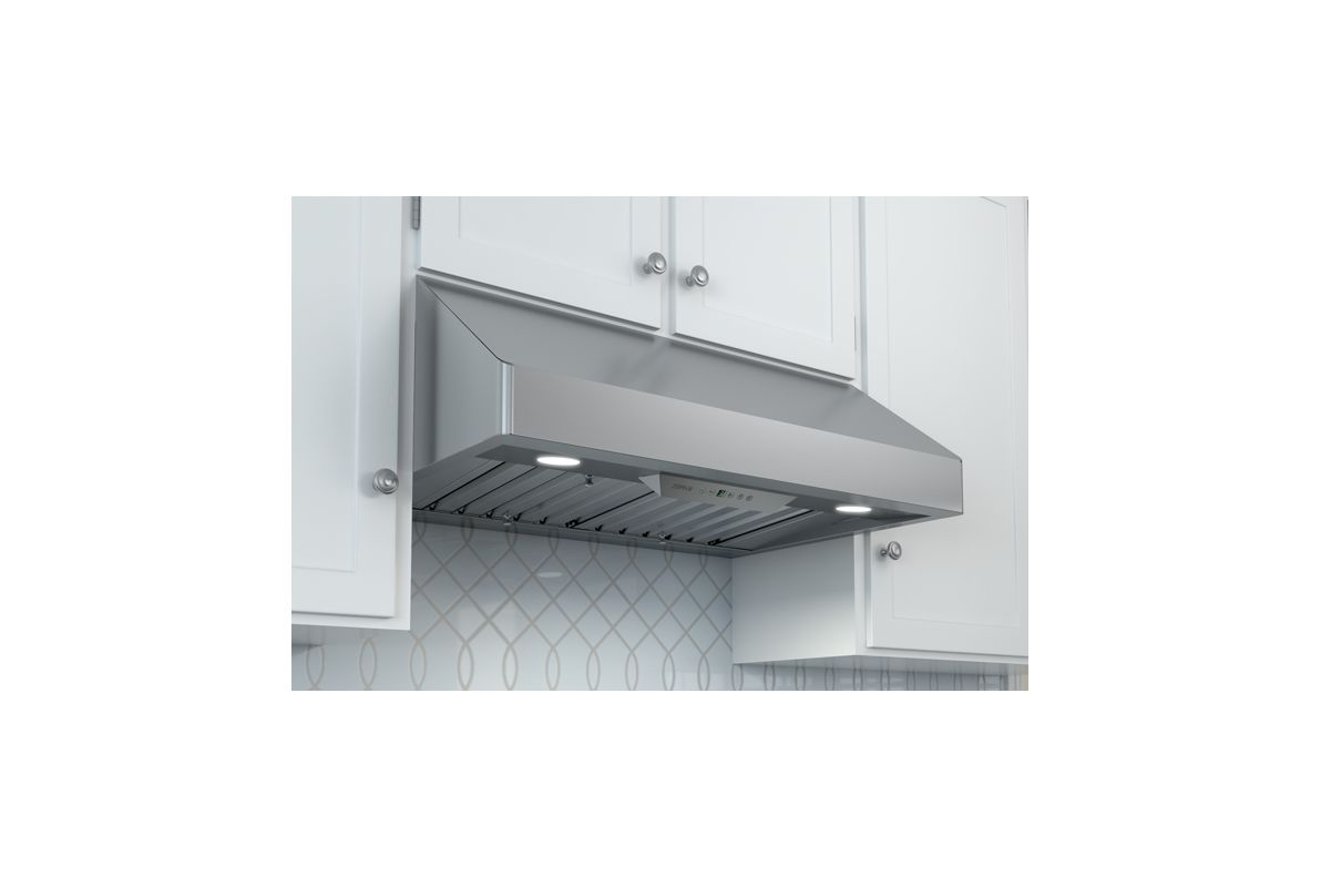 Zephyr Ak7000bs Stainless Steel 650 Cfm 30 Inch Wide Under