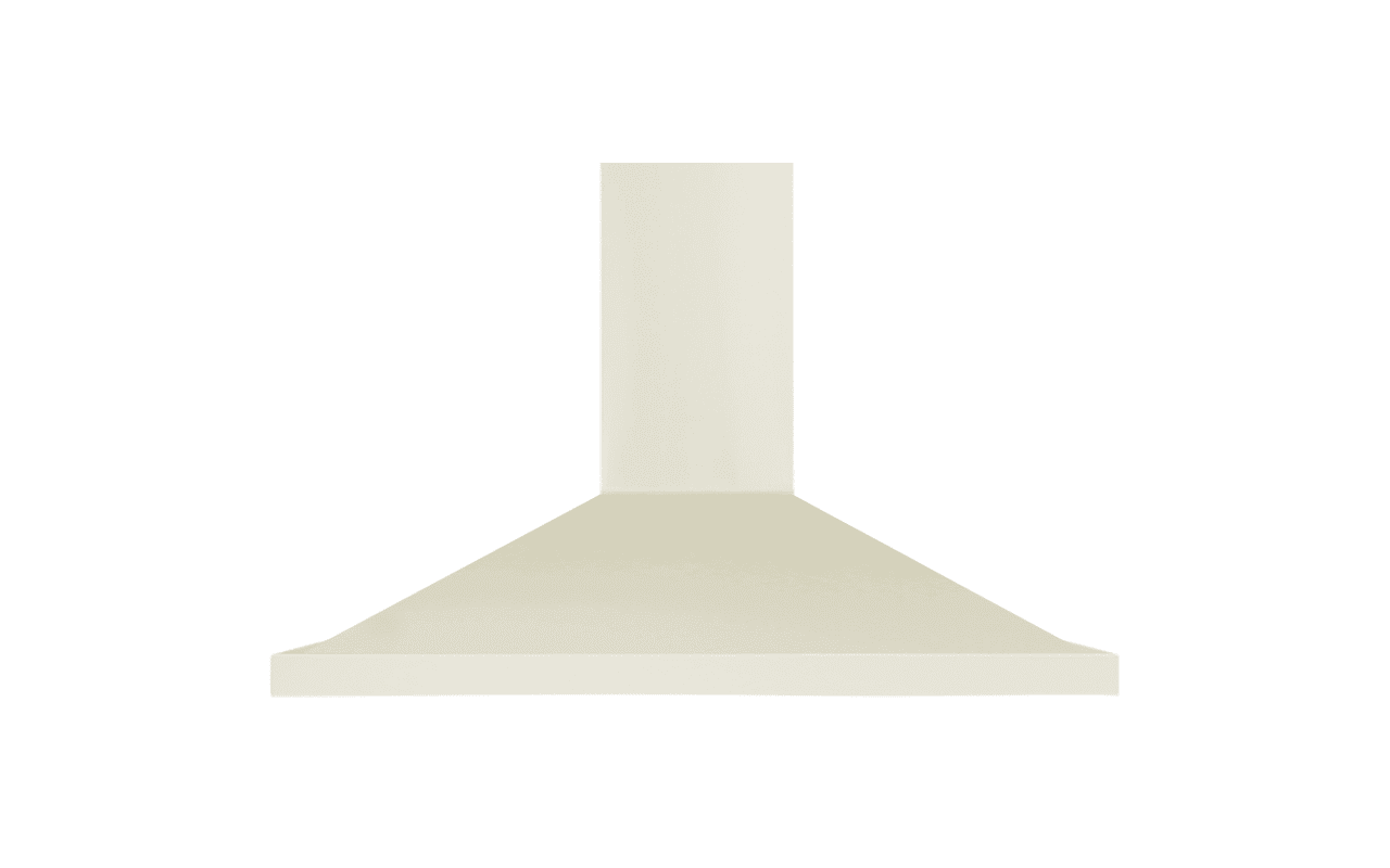 Wall Mounted Range Hood with Adjustable Duct Cover VentingDirect.com #7D7D4E